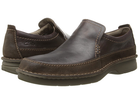 Clarks - Seeley Step (Brown Leather) Men