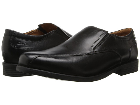 Clarks - Beeston Step (Black Leather) Men