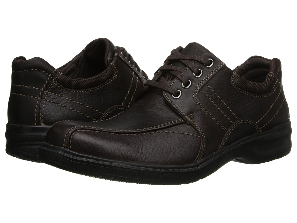 Clarks - Sherwin Limit (Brown Tumbled Leather) Men
