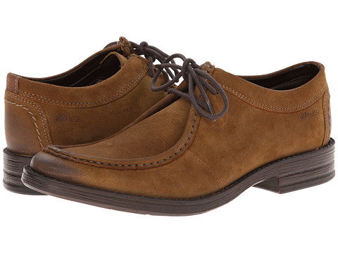 Clarks - Delsin Rise (Tan Leather) Men