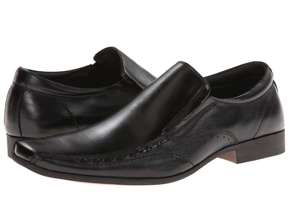 Steve Madden - Tyson (Black Leather) Men's Shoes