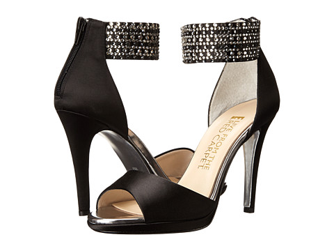 E! Live from the Red Carpet - Ronny (Black Satin) Women's Shoes