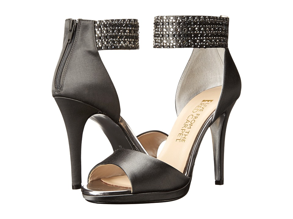 E! Live from the Red Carpet - Ronny (Carbon Satin) Women's Shoes