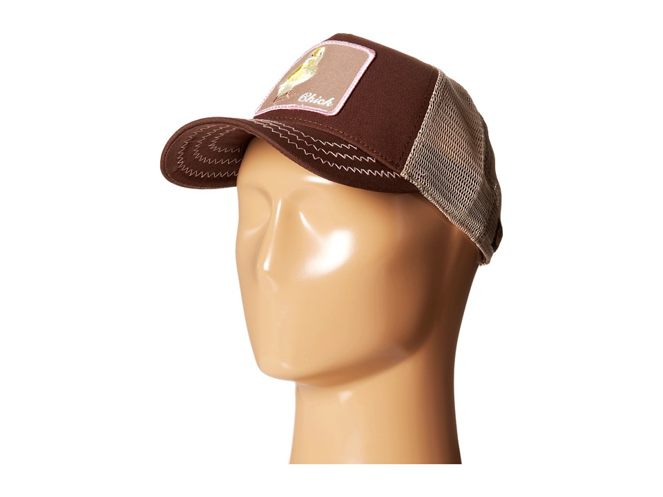 Goorin Brothers - Animal Farm Chicky Boom (Brown 2) Baseball Caps