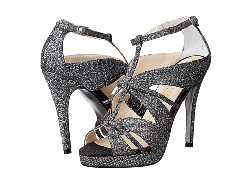 E! Live from the Red Carpet - Marilynn (Black/Silver Flash) Women's Shoes