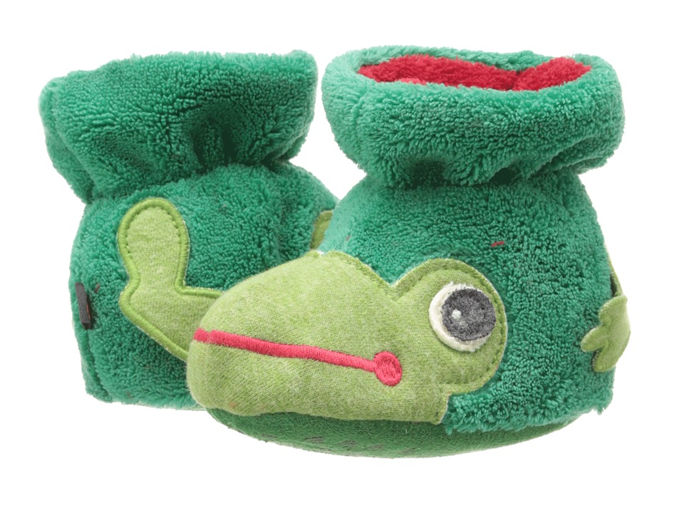 Acorn Kids - Easy Critter Bootie (Infant/Toddler) (Frog) Boys Shoes