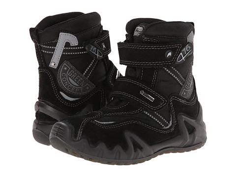 Primigi Kids - Moreno-E (Toddler/Little Kid) (Black) Boys Shoes