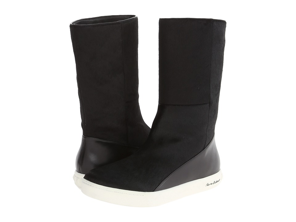 Pierre Balmain - Calf Hair Boot (Black) Women's Pull-on Boots