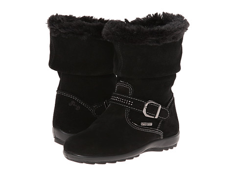 Primigi Kids - Glossy (Toddler/Little Kid) (Black) Girls Shoes