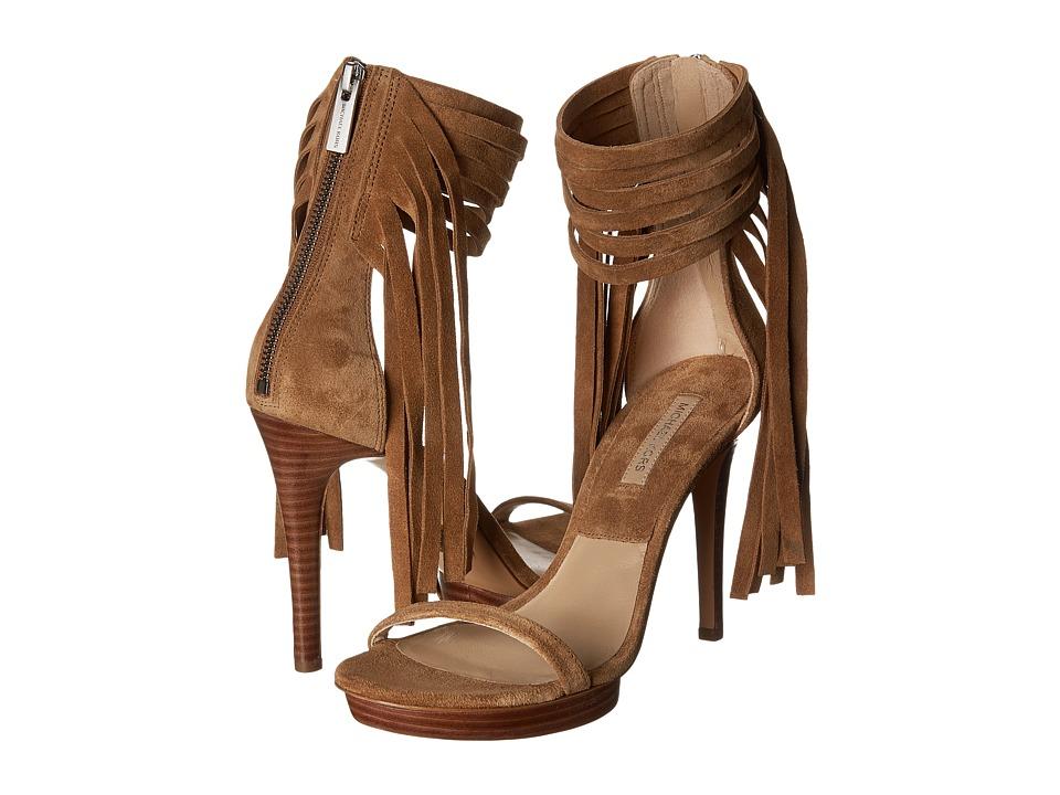 Michael Kors Daphne (Camel Sport Suede) High Heels