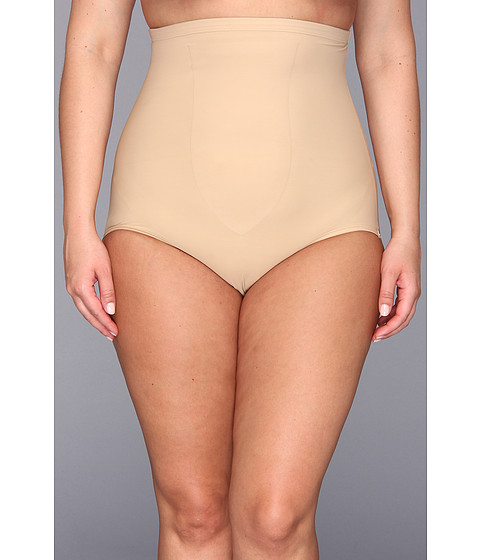 TC Fine Intimates - Plus Size Just Enough Hi-Waist Brief 4005 (Nude) Women's Underwear