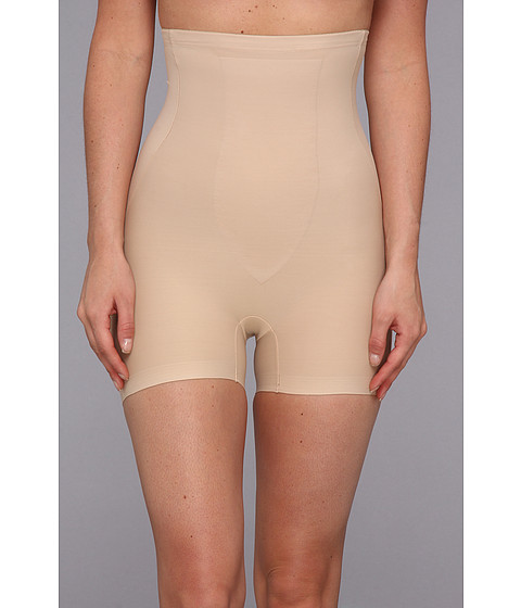TC Fine Intimates - Just Enough Hi-Waist Boyshort 4136 (Nude) Women's Underwear