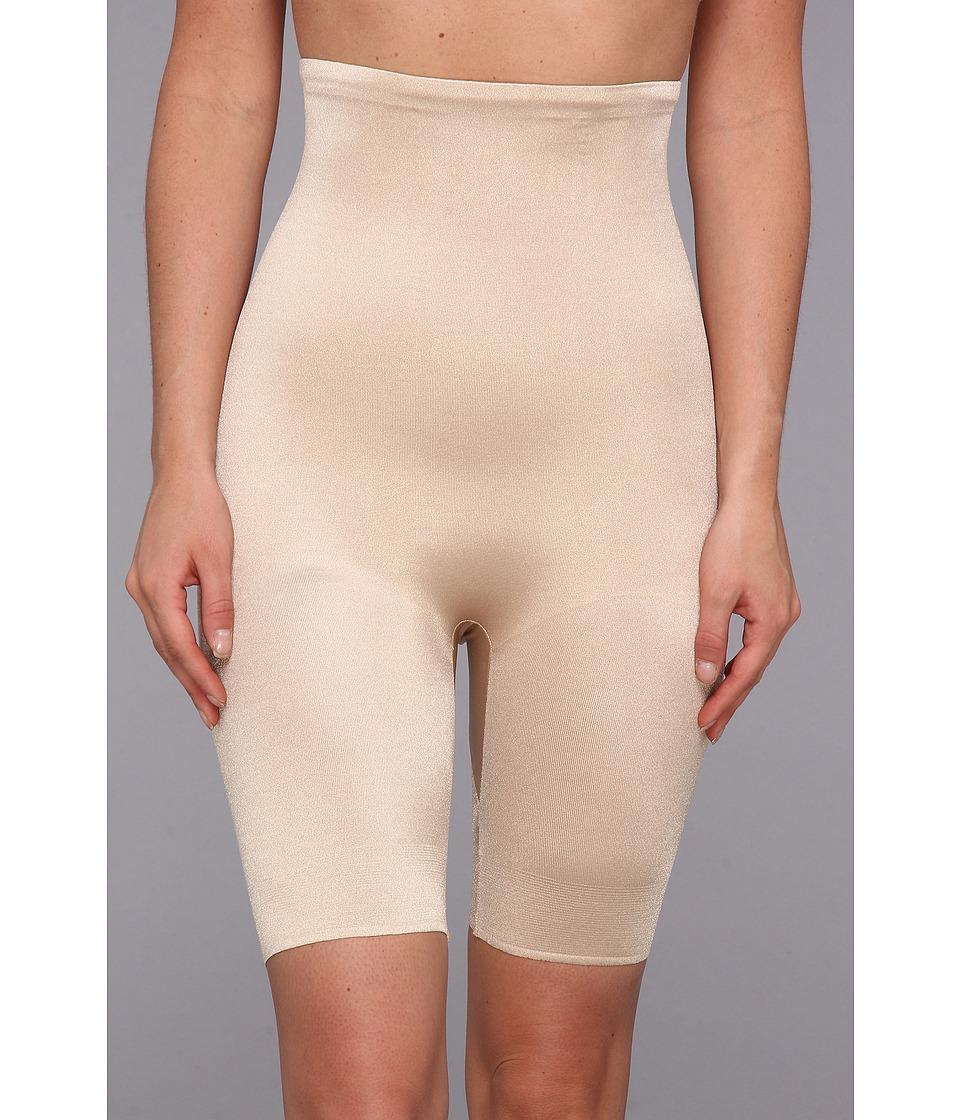 TC Fine Intimates - Even More Triple-Ply Midriff Hi-Waist Thigh Slimmer 499 (Nude) Women's Underwear