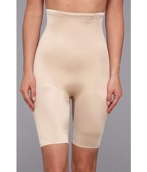 TC Fine Intimates - Even More Triple-Ply Midriff Hi-Waist Thigh Slimmer 499 (Nude) Women