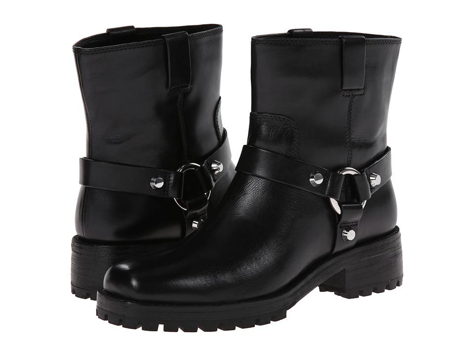 Michael Kors - Macey (Black Vachetta) Women's Pull-on Boots plus size,  plus size fashion plus size appare