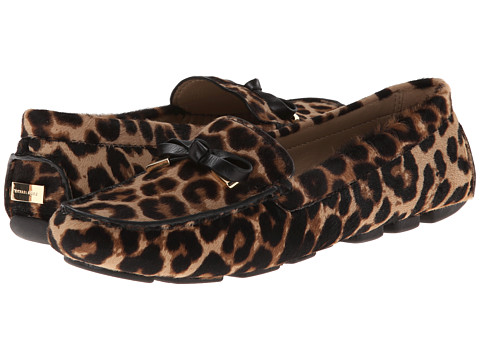 Michael Kors - Shane (TN LG Leo HC Large Leopard Haircalf/Smooth Calf) Women's Slip on Shoes