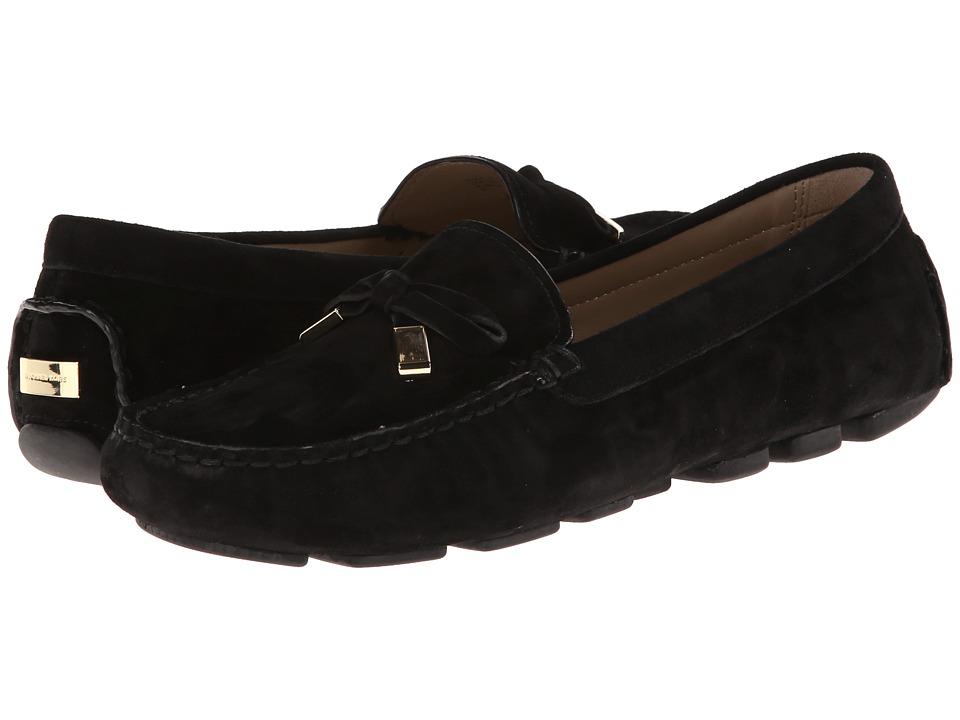 Michael Kors - Shane (Black Kid Suede) Women's Slip on Shoes
