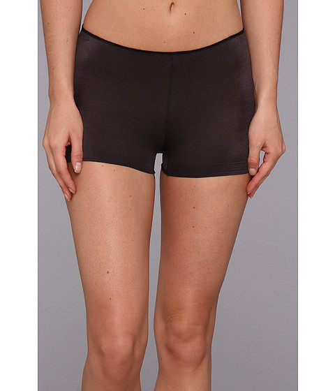 TC Fine Intimates - TC Edge Microfiber Boyshort A406 (Black) Women's Underwear