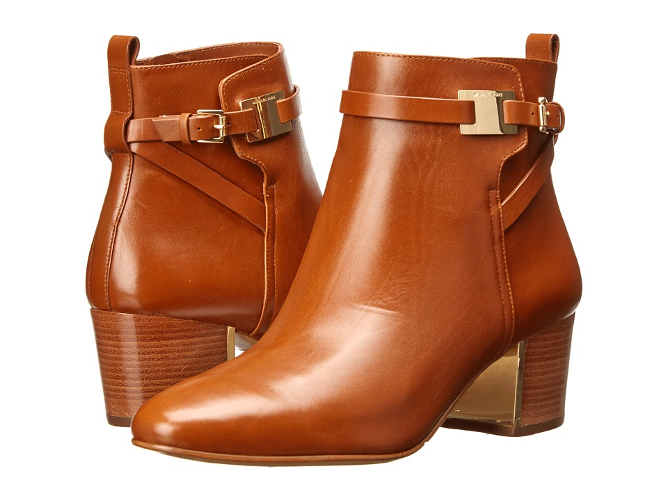 Michael Kors - Yves (Luggage Smooth Calf) Women's Zip Boots