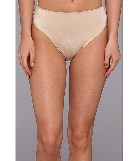 TC Fine Intimates - TC Edge Microfiber Hi-Cut Brief A404 (Nude) Women's Underwear