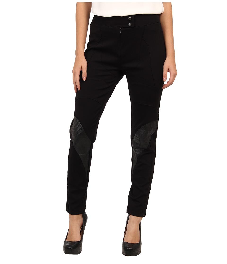 Pierre Balmain - Skinny Cropped Pant (Black) Women's Casual Pants