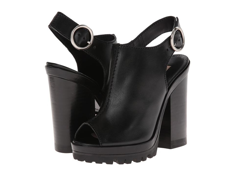 Michael Kors Patras Runway (Black Vachetta/Sport Suede) High Heels