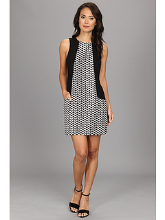 SALE! $42.99 - Save $56 on kensie Jaquard Dress (Black Combo) Apparel - 56.58% OFF $99.00