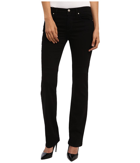 Versace Jeans - Jeans with Pocket Detail in Black (Black) Women's Jeans