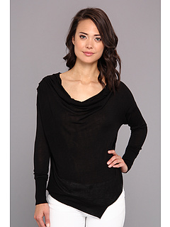 SALE! $37.99 - Save $41 on kensie Drapey Sweater (Black) Apparel - 51.91% OFF $79.00