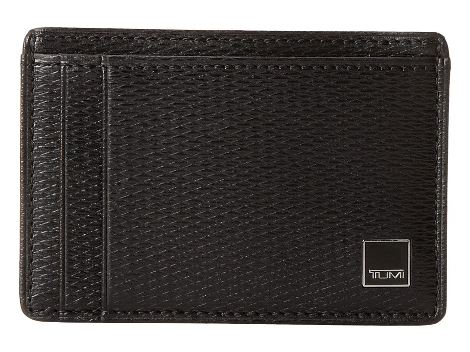 Tumi - Monaco - Money Clip Card Case (Black) Credit card Wallet