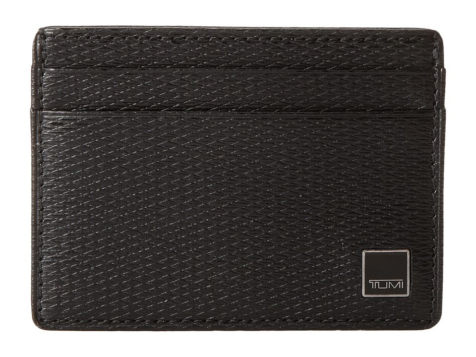 Tumi - Monaco - Slim Card Case (Black) Credit card Wallet