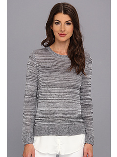 SALE! $37.99 - Save $41 on kensie 2Fer Sweater (Cloudy Combo) Apparel - 51.91% OFF $79.00