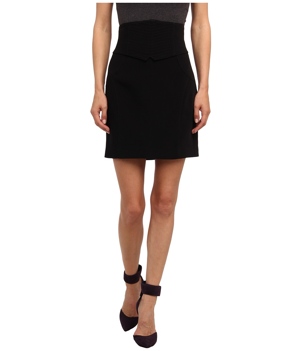 Pierre Balmain - Short Pencil Skirt (Black) Women's Skirt