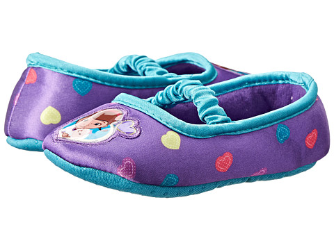 Favorite Characters - Disney Doc McStuffins Slipper 1DMF202 (Toddler) (Purple) Girls Shoes