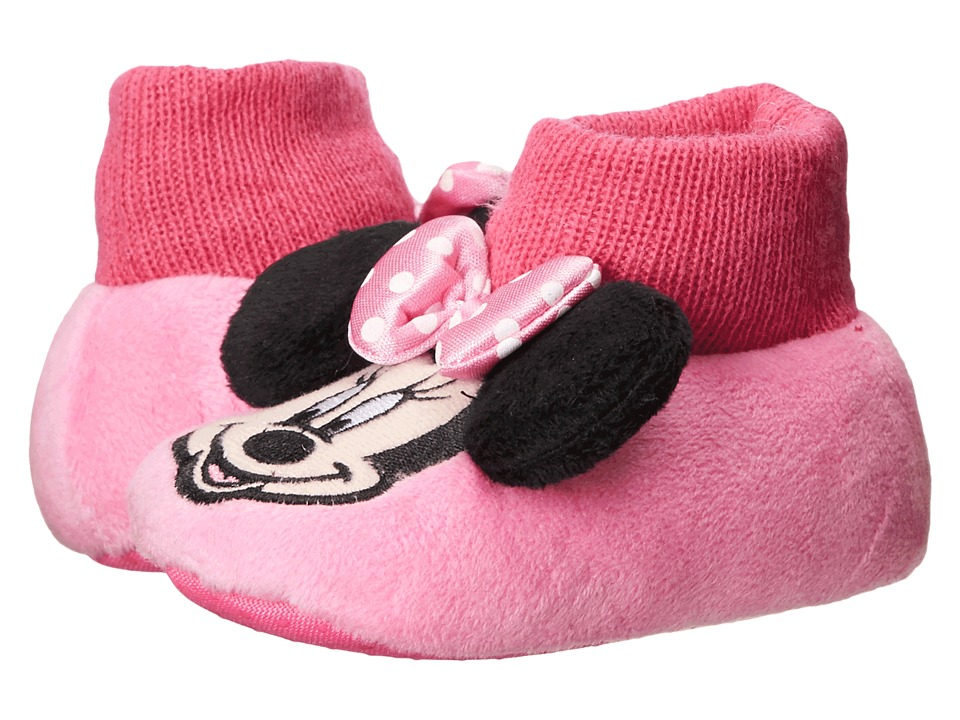 Favorite Characters - Disney Minnie Mouse Sock Top 1MNF233 (Infant/Toddler) (Pink) Girls Shoes