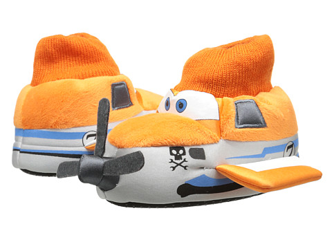 Favorite Characters - Disney Planes Sock Top Slipper 1PLF200 (Toddler/Little Kid) (White) Boys Shoes
