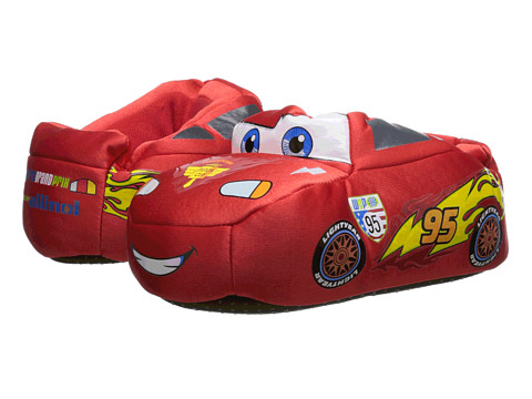 Favorite Characters - Disney Lightening McQueen Slippers 1CAF238 (Toddler/Little Kid) (Red) Boys Shoes