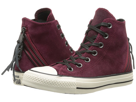 Converse - Chuck Taylor All Star Tri Zip Burnished Zip Hi (Oxheart) Women