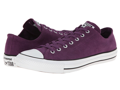 Converse - Chuck Taylor All Star Suede OX (Elderberry) Classic Shoes