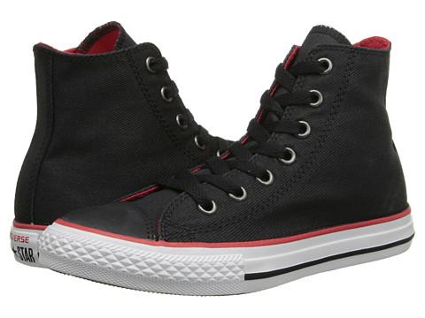Converse Kids - Chuck Taylor All Star Hi (Little Kid/Big Kid) (Black) Boys Shoes