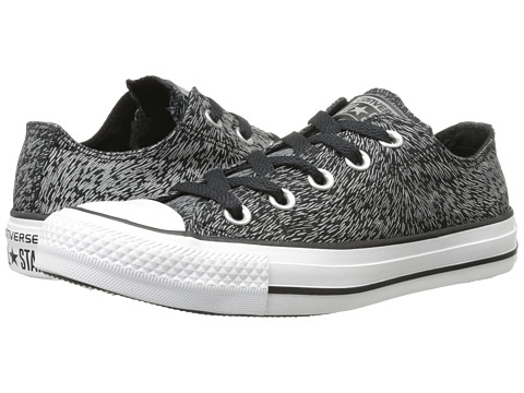 Converse - Chuck Taylor All Star Reflective Animal Print Ox (Black/Reflective) Women's Lace up casual Shoes