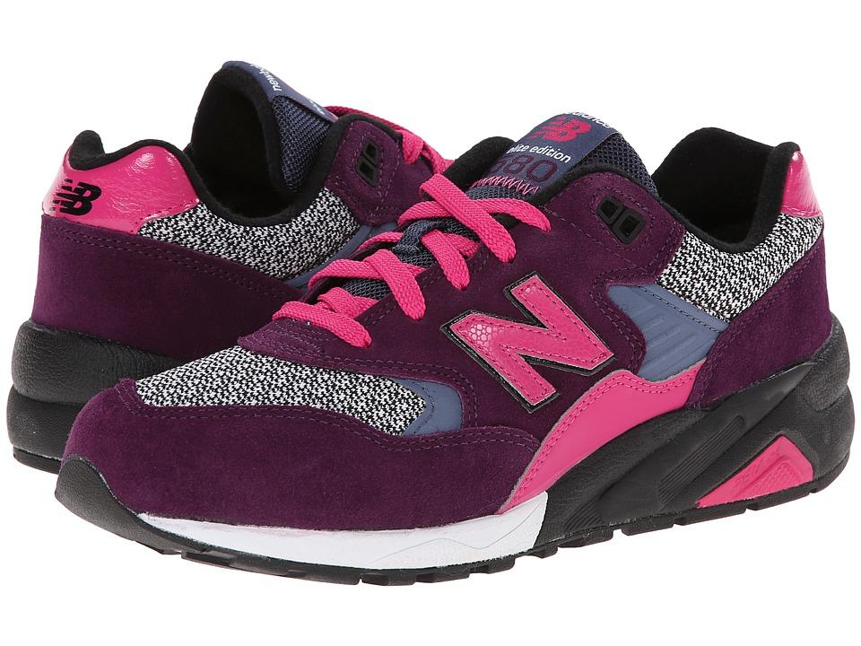 New Balance Classics - WRT580 (Grey/Purple) Women's Classic Shoes
