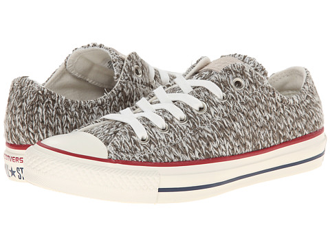 Converse - Chuck Taylor All Star Winter Knit Ox (Charcoal/Egret) Women
