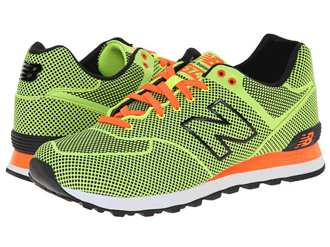 New Balance Classics - ML574 - Woven Collection (Hi Viz Yellow) Men's Shoes