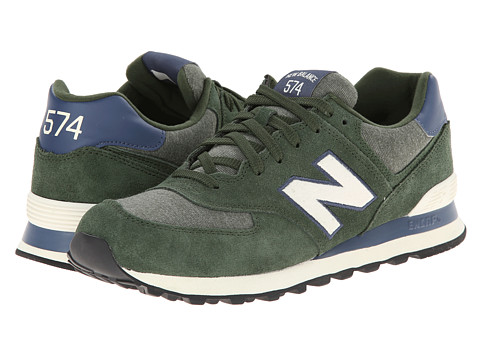 New Balance Classics - ML574 - Pennant Collection (Green/White) Men