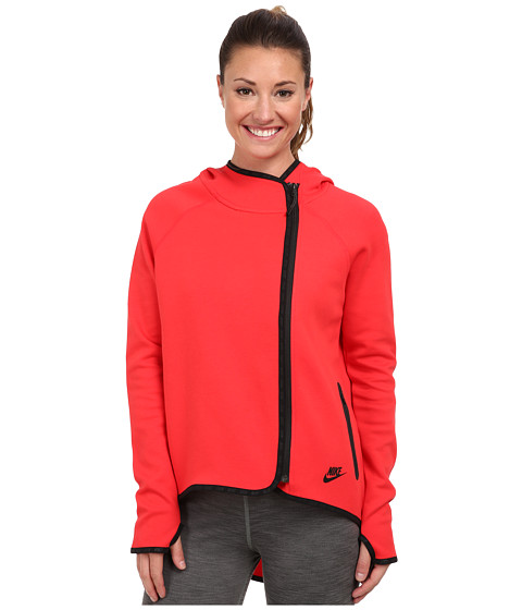 Nike - Tech Cape (Action Red/Black) Women's Jacket