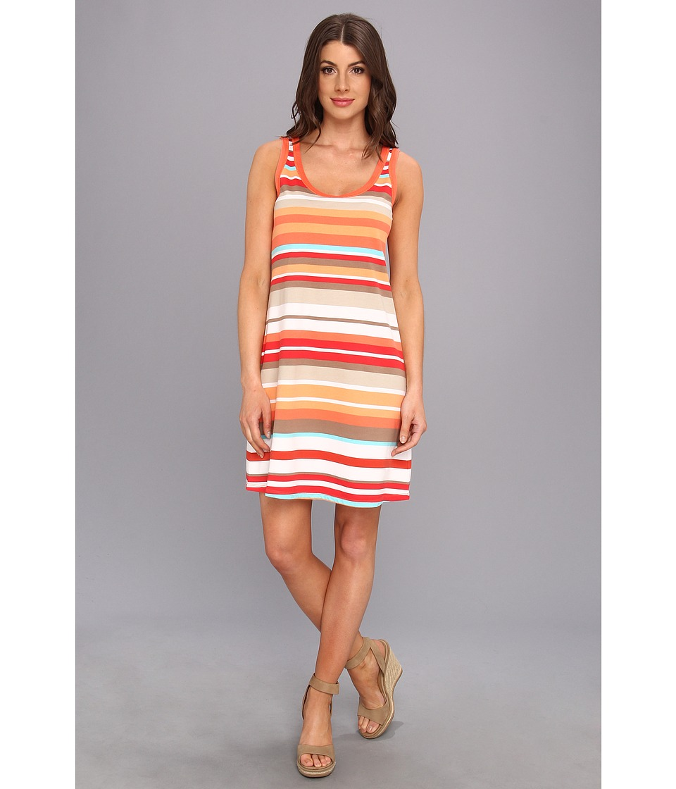 Tommy Bahama Desert Sands Tank Dress Womens Dress (Red)