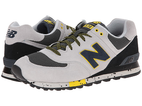 New Balance Classics - ML574 - Outdoor Collection (Grey/Black) Men's Shoes
