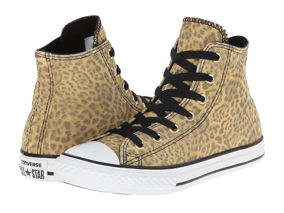 Converse Kids - Chuck Taylor All Star Hi (Little Kid/Big Kid) (Leopard) Girls Shoes