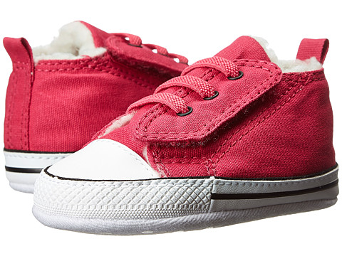 Converse Kids - Chuck Taylor First Star Easy Slip (Infant) (Cosmos Pink) Girls Shoes